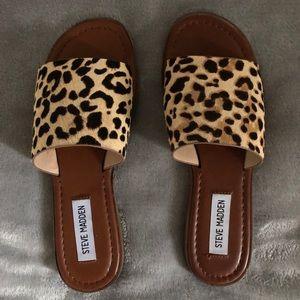 4c1d701241b Steve Madden Shoes - Steve Madden cheetah slides